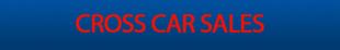 Cross Car Sales logo