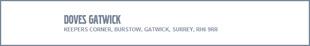 Doves Volvo Gatwick logo