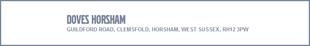Doves Volvo Horsham logo