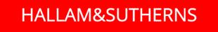 Hallam & Sutherns logo