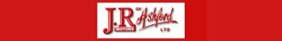J R of Ashford logo