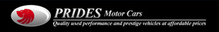 Prides Motorcars logo