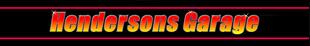 R & E Hendersons Garage logo