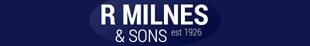 R Milnes & Sons logo
