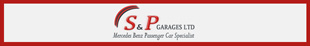 S & P Garages logo