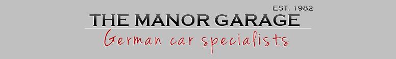 The Manor Garage Logo