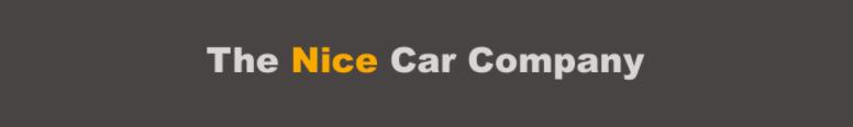 The Nice Car Company Logo