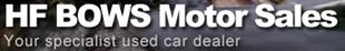H.F Bows Motor Sales logo