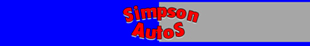Simpson Autos logo