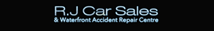 R J Car Sales logo