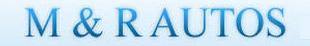 M & R Autos logo