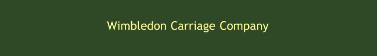Wimbledon Carriage Co Logo