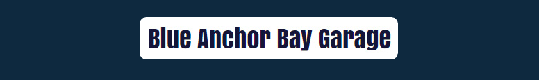 Blue Anchor Bay Garage Logo