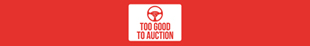 Too Good To Auction Exeter logo