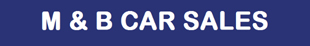 M and B Cars logo