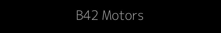 B42 Motors Logo